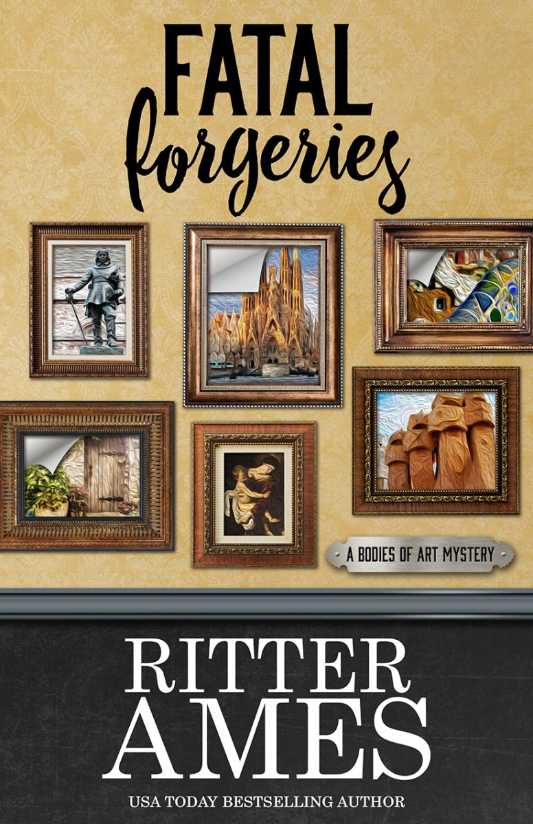 Ritter Ames Fatal Forgeries Awordfromjojo Cozymystery Thriller Mystery Ritterames