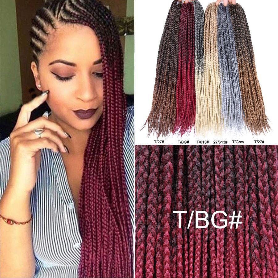 48++ Crochet braids with kanekalon braiding hair ideas in 2021