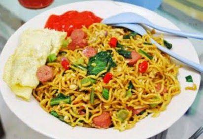 Resep Cara Membuat Mie Telor Resep Resep Masakan Indonesia Makanan