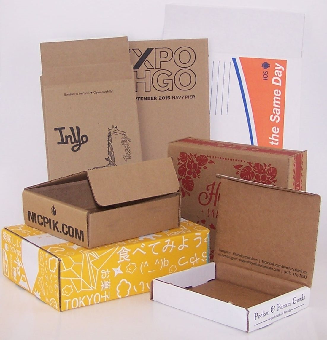 Custom Printed Mailer Envelopes and Boxes Custom printed