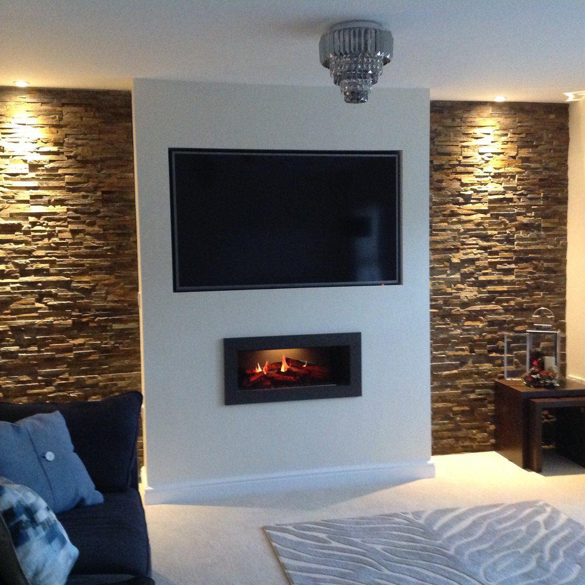 Opti V Installation At A New Property In Doncaster Homeinspo Interiordesign Fake Walls Bedroom Tv Wall Living Room Tv Wall