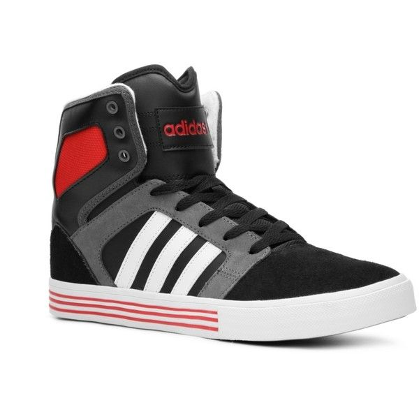Adidas Neo High Tops Black And White