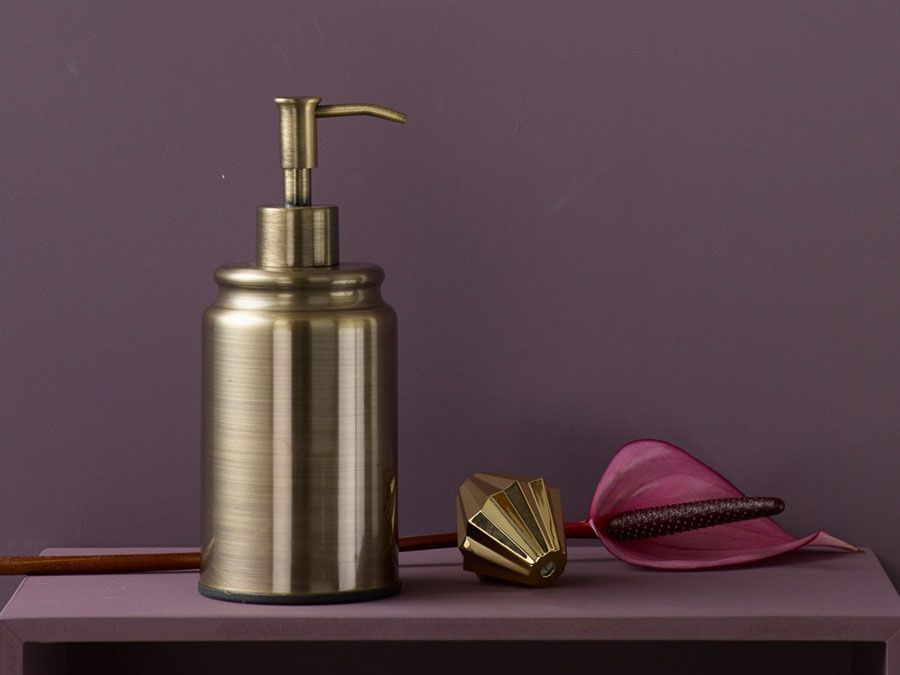 Was Fur Ein Blickfang Seifenspender In Kupfer Kupfer Gold Seifenspender Vintage Badezimmer Seifenspender Seifenspender Set Bad Accessoires Set