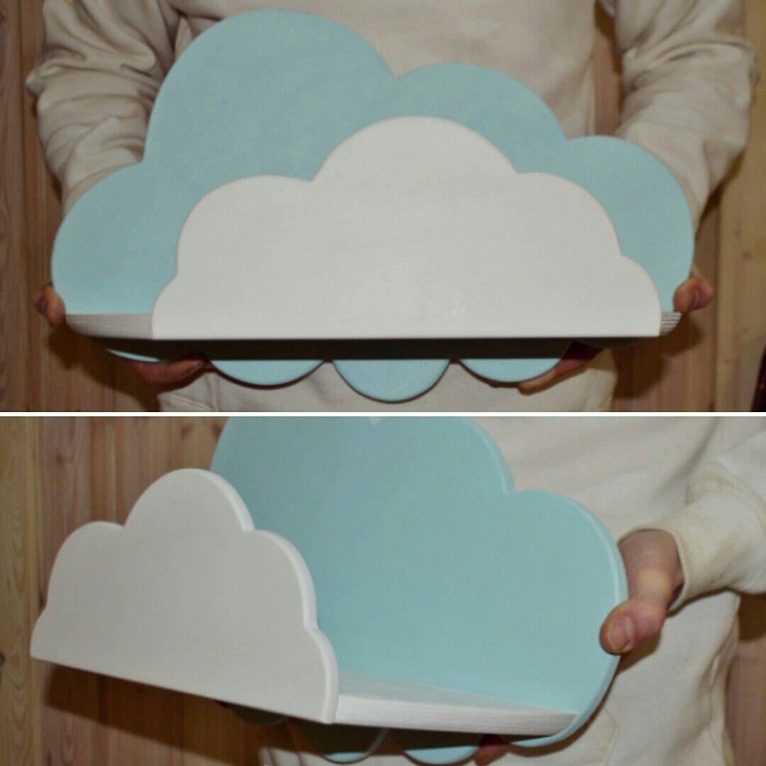 Полка-облако - волшебный декор для детской комнаты