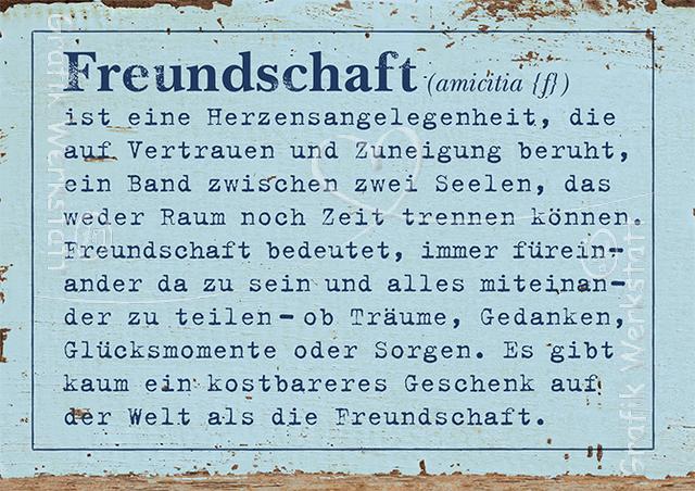 Artikel Grafik Werkstatt Bielefeld Freundschaft Sprüche