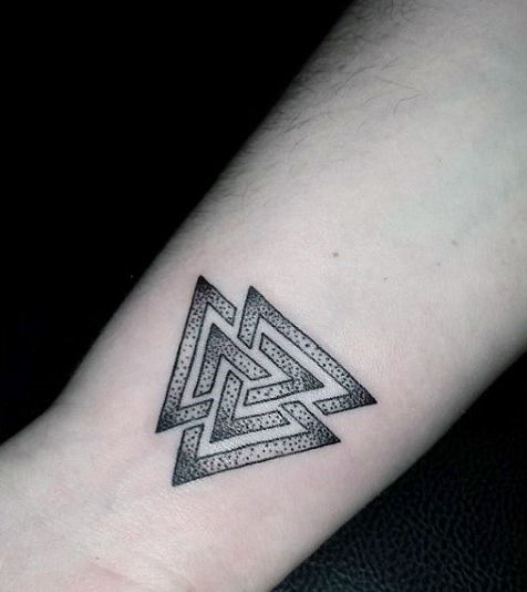 Top 87 Triangle Tattoo Ideas 2020 Inspiration Guide Wrist Tattoos For Guys Sleeve Tattoos Triangle Tattoo