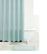 Lenox® French Perle Shower Curtain Or Bath Rug From Tuesday Morning $9.99