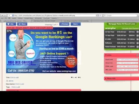 How To Create a Clickable Image For Craigslist & Backpage
