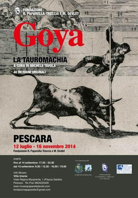 Manifesto mostra Museo Paparella