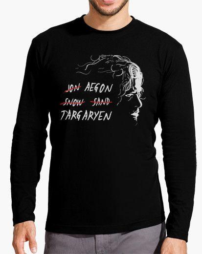 Aegon Targaryen Jon Snow T-Shirt Game of Thrones
