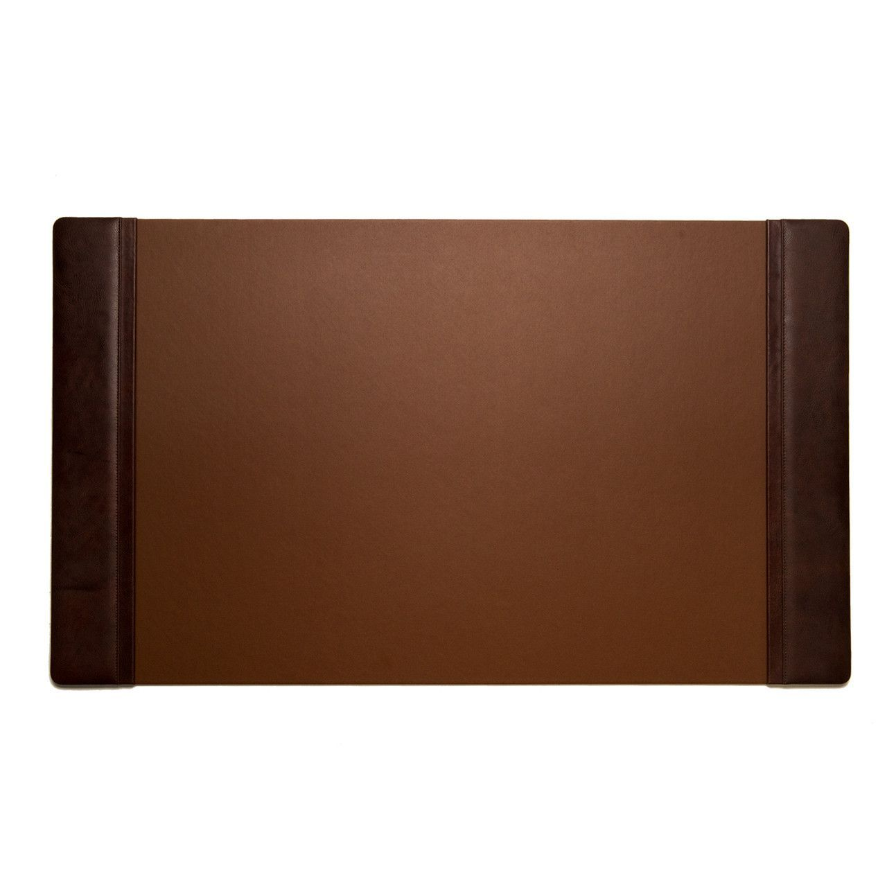 Bey Berk Tan Croco Leather Desk Pad