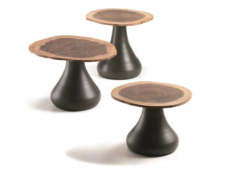 Round Mdf Coffee Table Rio By Cattelan Italia Design Giorgio Cattelan Contemporary Coffee Table Walnut Coffee Table Round Coffee Table