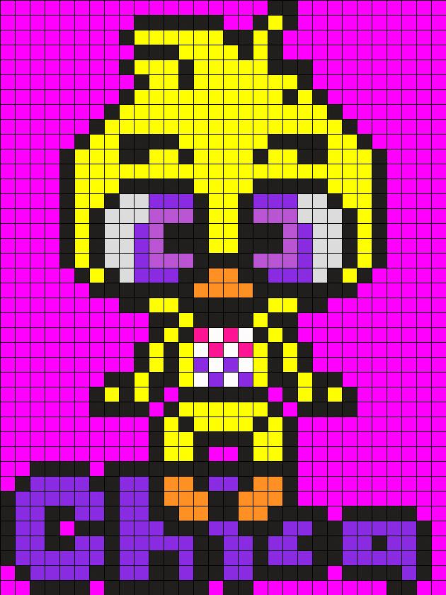 Chicka Baby Perler Bead Pattern Bead Sprite