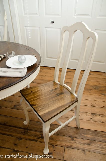 Turn Upholstered Dining Chair Seats Into Wood Dining Chairs