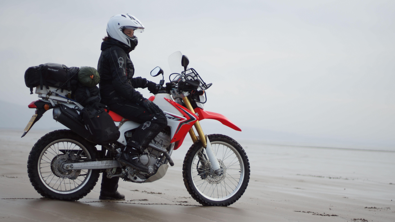 honda crf250l в грязи