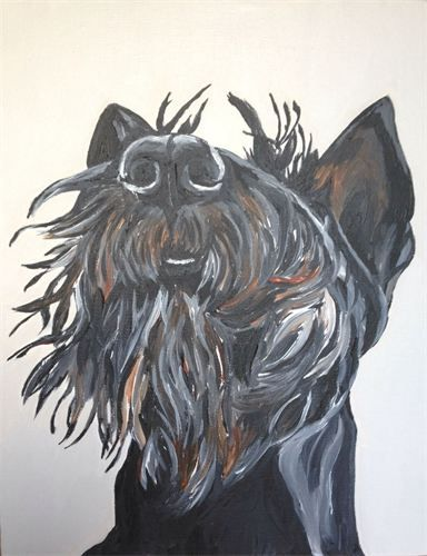 The Speckled Pup Welcome Asheville Nc Schnauzer Art Dog Paintings Dog Art