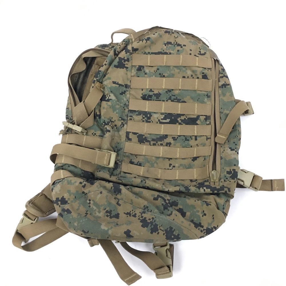 58fe38452d USMC US Marine Corp ILBE APB03 Assault Pack MARPAT Digital Woodland Camo