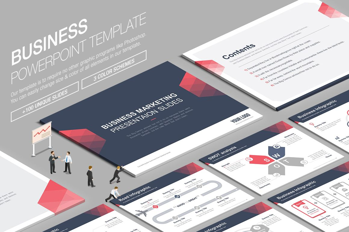 Check out this behance project ppt business powerpoint template business powerpoint template is to require no other graphics programs like photoshop you can easily change size color of all elements in business toneelgroepblik Images