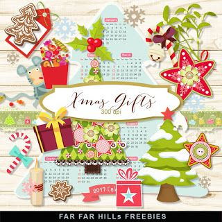New Freebies Kit - Xmas Gifts