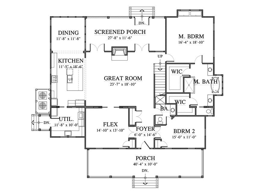 Why We Love House Plan 1936 Best house plans, Southern