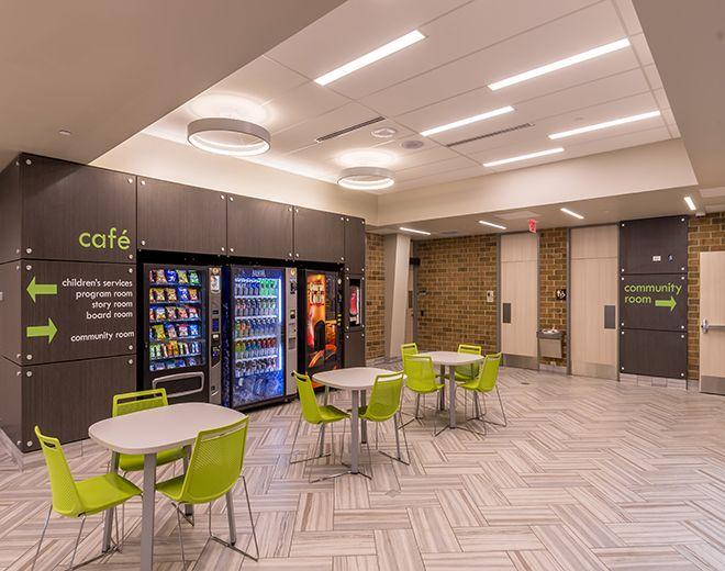 Williams Architects - Naperville - Nichols Public Library - Interior