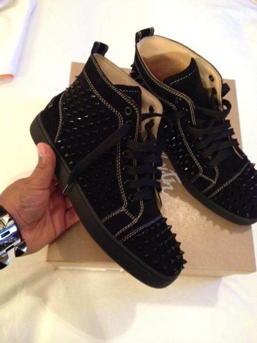 Christian Louboutin Zapato de barco Moda casual