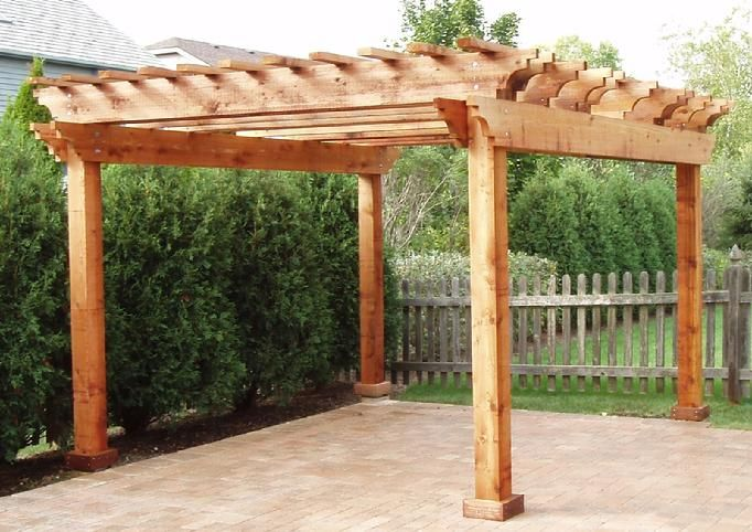 cedar pergola kits pergolas italian 1675 a pergola structure usually consisting of. Black Bedroom Furniture Sets. Home Design Ideas