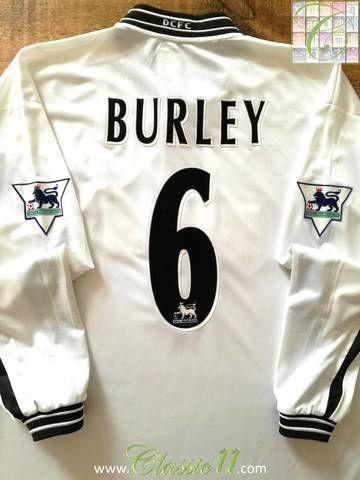 67c26b87d30 Official Puma Derby County home long sleeve football shirt from the  1999 2000 season.