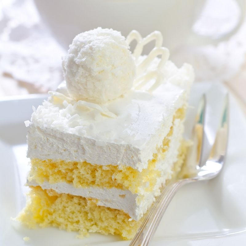 Moist white cake recipe from scratch 9x13