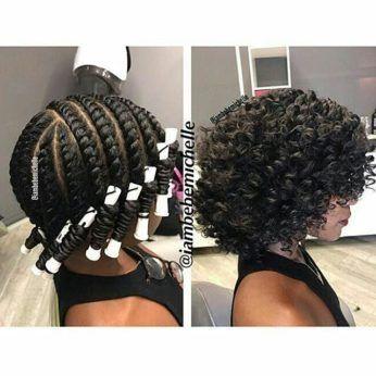 12 Bomb Perm Rod Set Hairstyle Pictorials And Photos Medium Length Hair Styles Hair Styles Curly Hair Styles