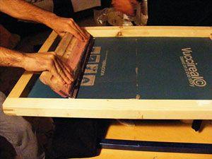 Screen Printing Process New Delhi India