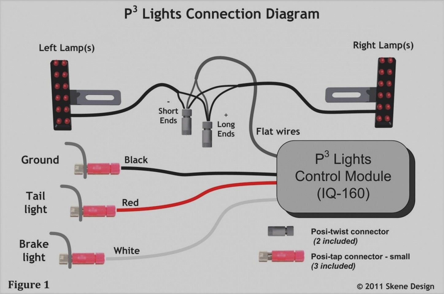 3 Wire Led Christmas Lights Wiring Diagram In