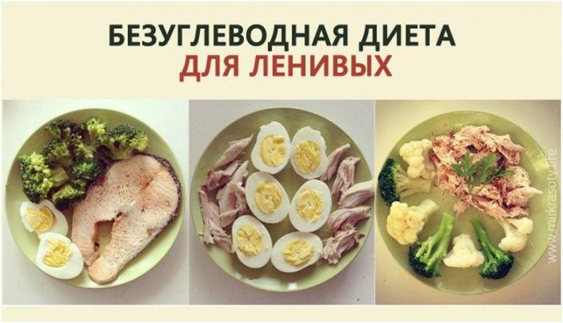 Диеты рецепт безуглеводной