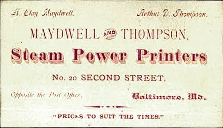 The Print Guide: The Wayback View - Printshop business cards