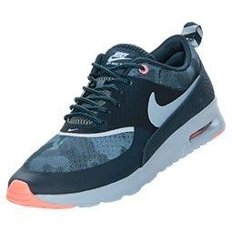 Sneakersca Women s Nike Air Max Thea Print Running Shoes Armory Navy Light  Armory Blue - fc397678d04d