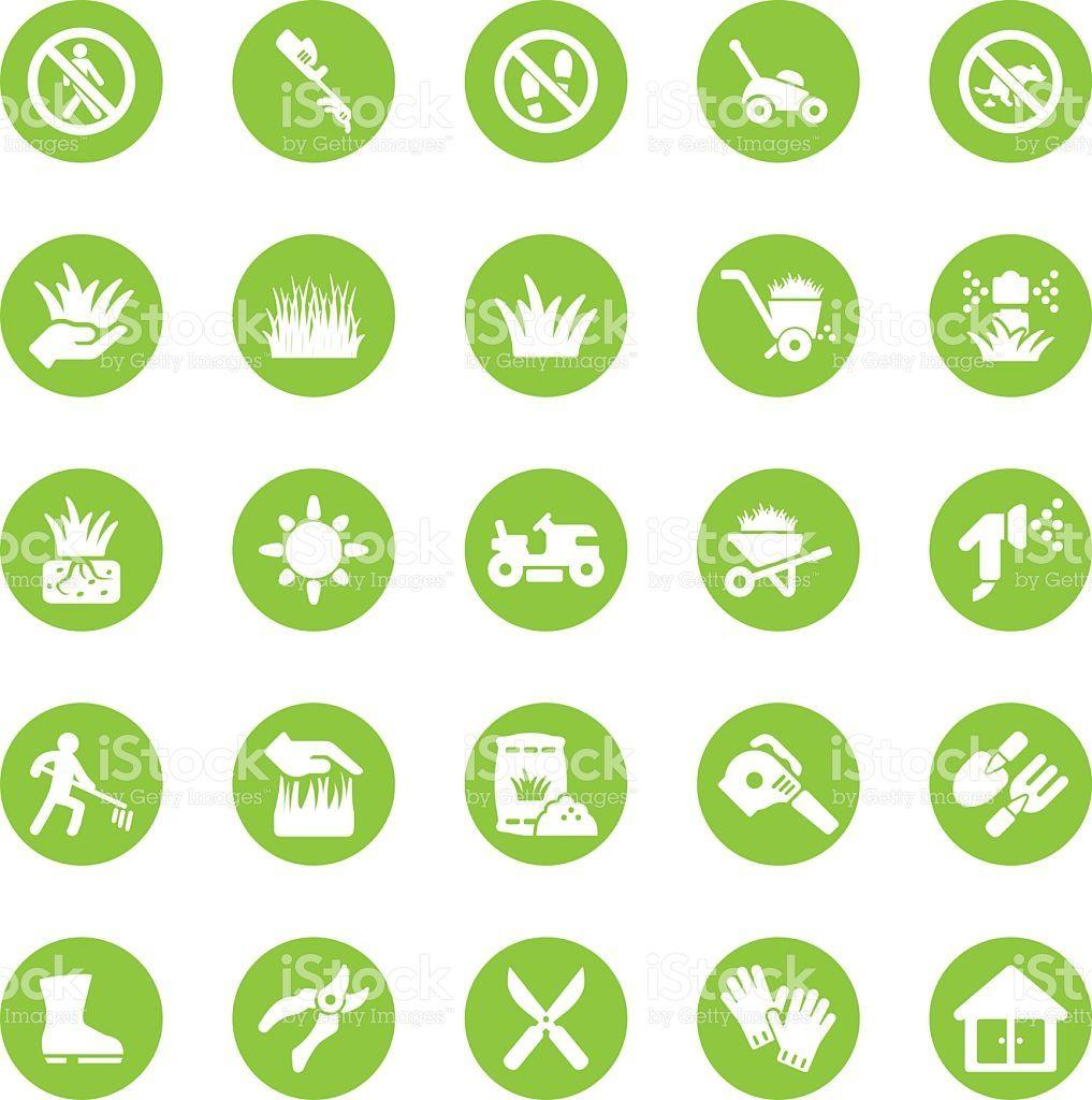 Grass Circle Green Icons Free Vector Art Vector Art Circle