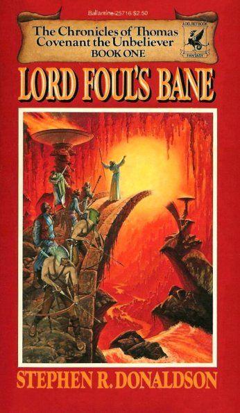 _Lord Foul's Bane_.  Stephen R. Donaldson