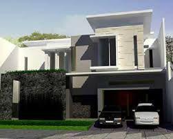 Hasil Gambar Desain Rumah Minimalis Modern 2 Lantai