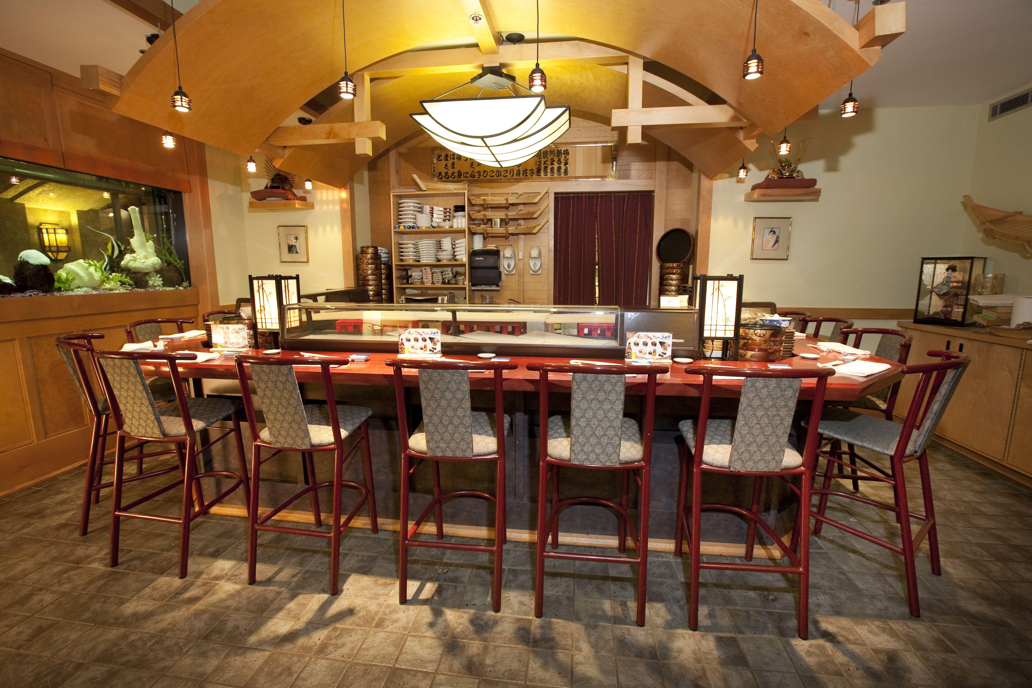 Located In Fairmont Banff Springs Samurai Sushi Bar