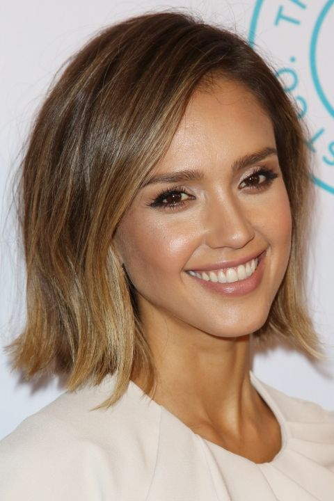 Hair Colour Ideas Shades To Try Now Jessica Alba Hair Jessica Alba Short Hair Short Hair Styles