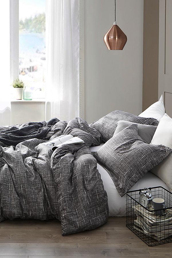Photo of Gray Lightening – Twin XL Comforter – Supersoft Microfiber Bedding