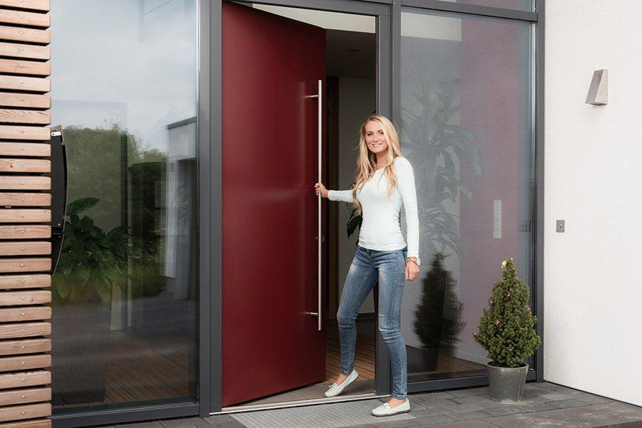 Bildergebnis Für Haustür Rot Haustür Doors Dining Room Und Room
