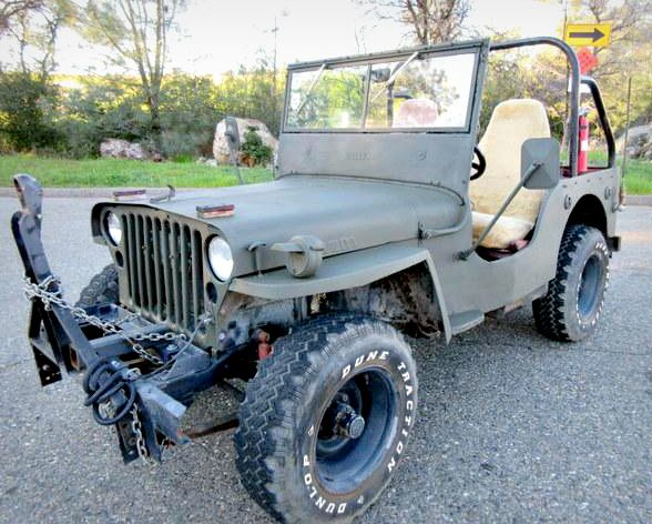 This 1943 Ford Gpw Jeep Is Coming Up For Auction It S In Auburn