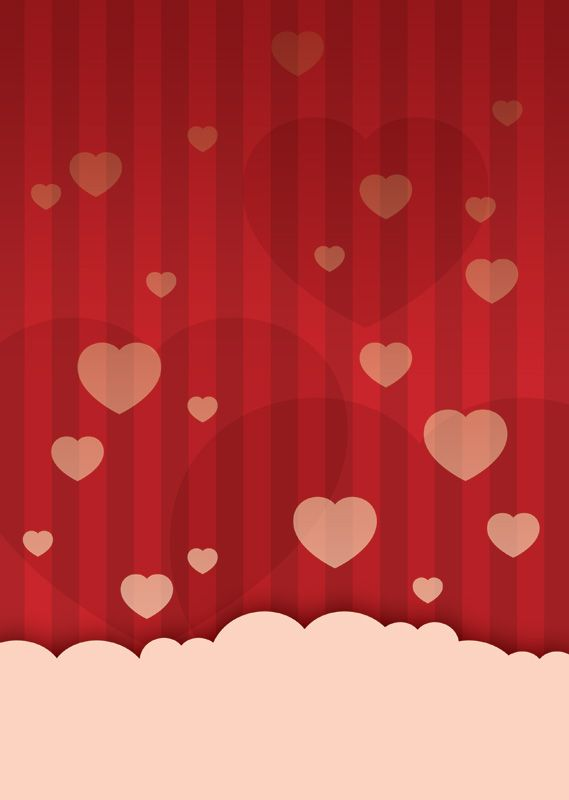 Valentine\u0027s day love heart poster background Free Poster Templates