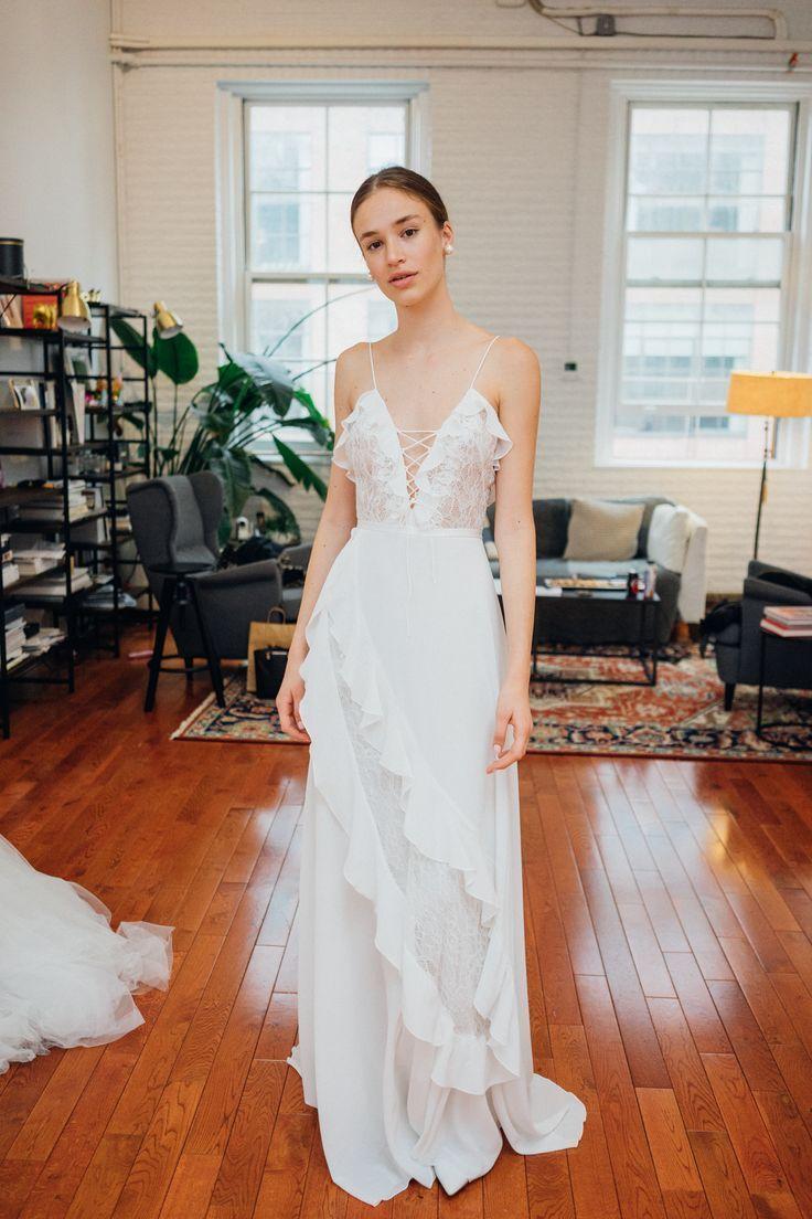 Fashionforward brides must see the latest livne white wedding