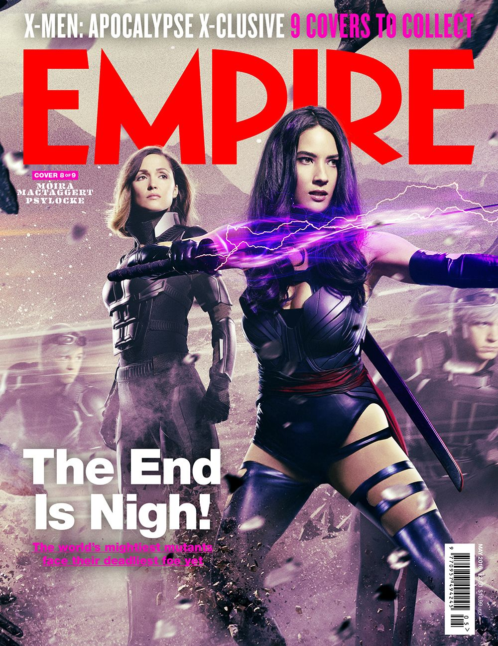 X Men Apocalypse Rose Byrne As Moira Mactaggert Olivia Munn As Betsy Braddock Psylocke And Evan Peters As Peter Quicksilver For X Men Psylocke Apocalypse