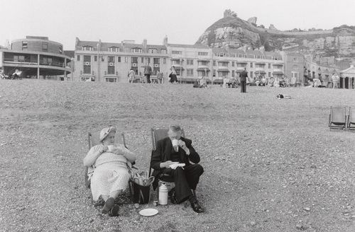 Bruce Davidson. Brighton Beach. 1960