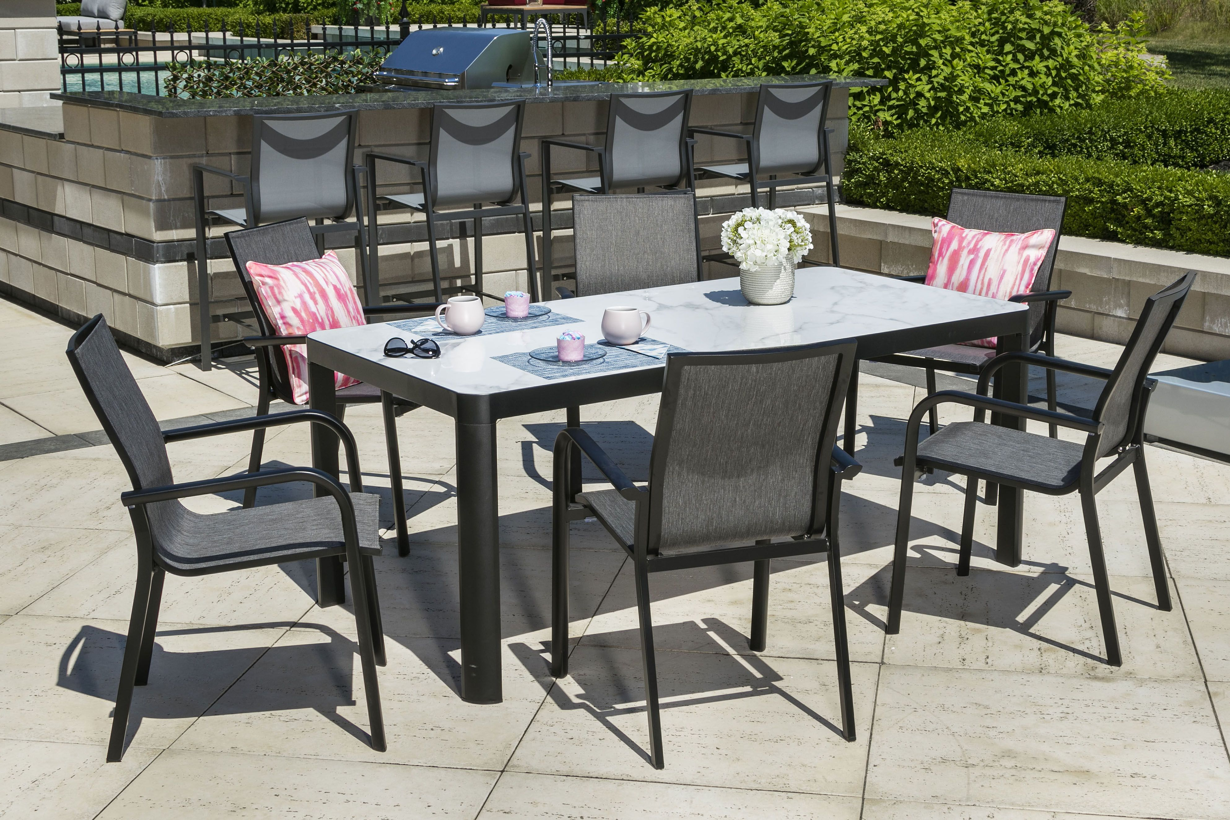 Ensemble A Manger Exterieur Atlantis Outdoor Tables Outdoor Furniture Outdoor Decor