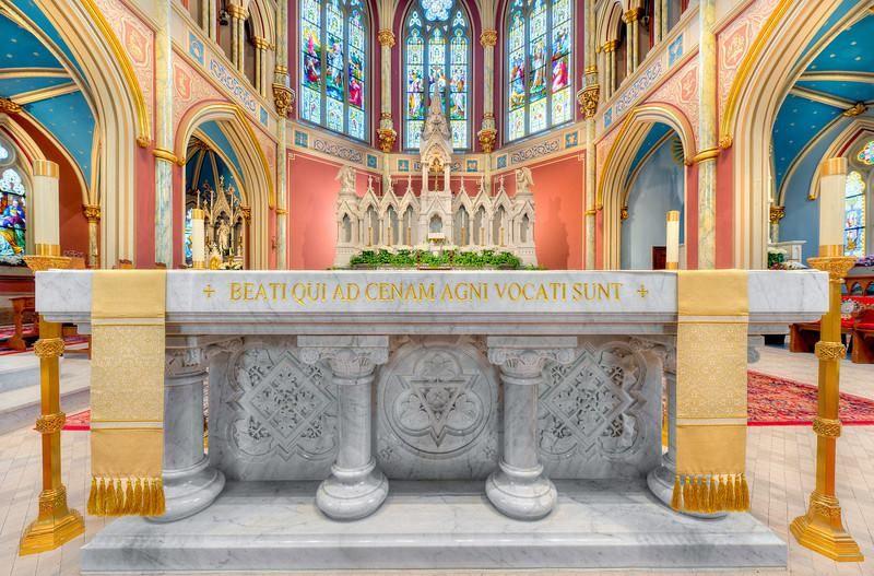 Cathedral of St. John Savannah, Christian art