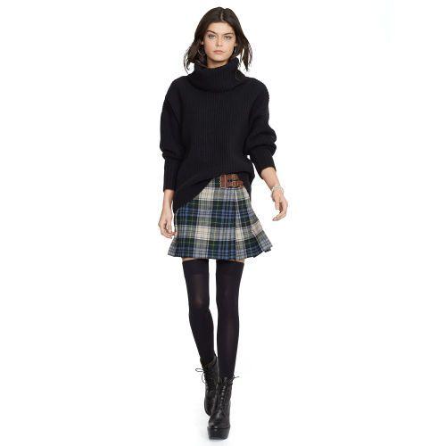 cd9515a45 Plaid Wool Miniskirt. Plaid Wool Miniskirt Polo Ralph Lauren ...